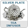 Silver Plate Tea Infuser