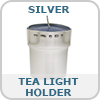 Sterling Silver Tea Light Holder