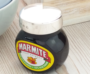 Sterling Silver Marmite Lid 125g
