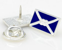 UK Made Bespoke Lapel Pin - Stamp and Enameling