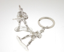 View Silver Army Man Keyring in detail