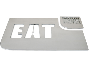 Eat Drink Placemat and Coasters